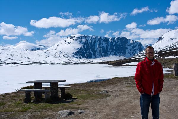 Rasteplass på Strynefjellet