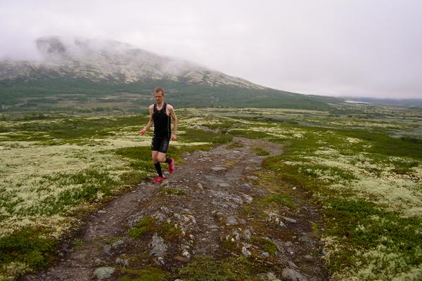 Anders på fjellsti