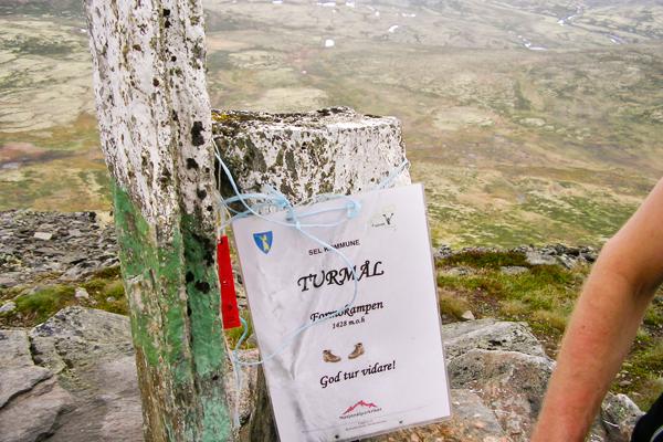 Plakat på toppen av Formokampen