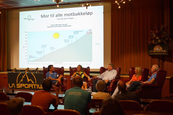 Kick-off for Skåla Opp i Loensalen på Hotell Alexendra
